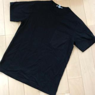 ハイク(HYKE)のHYKE Tシャツ 黒(Tシャツ(半袖/袖なし))
