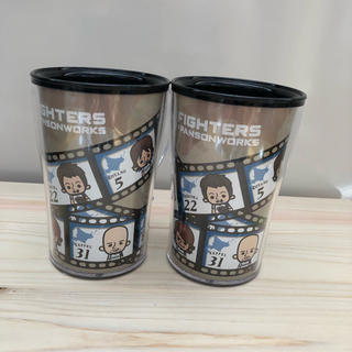 ホッカイドウニホンハムファイターズ(北海道日本ハムファイターズ)のファイターズ マグカップ2個(食器)
