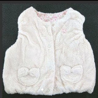 ミキハウス(mikihouse)のミキハウス ベスト 60 新生児~ MIKI HOUSE 出産準備(ニット/セーター)