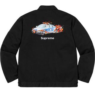 Supreme - XL Cop Car Embroidered Work Jacket