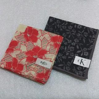 Calvin Klein - INED &カルバンクライン☆ハンカチ2枚セット