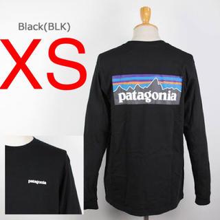 patagonia - お値下げ★ロングスリーブ ロンTシャツ P-6ロゴ レスポンシビリティ黒ブラック