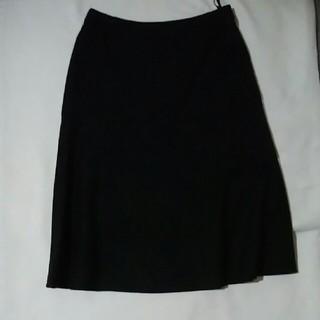 ニジュウサンク(23区)の 23区 DEUX ブラック スカート  (ひざ丈スカート)