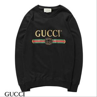 Gucci - [2枚8000円送料込み]GUCCIグッチ 長袖 トレーナースウェット