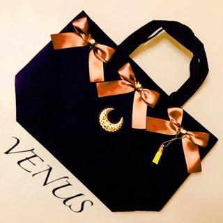 セール!トートバッグ◆VENUS ヴィーナス ◆おしゃれ リボン タッセル 金星(トートバッグ)