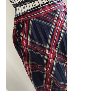 ドゥロワー(Drawer)のチェックロングスカート(ロングスカート)