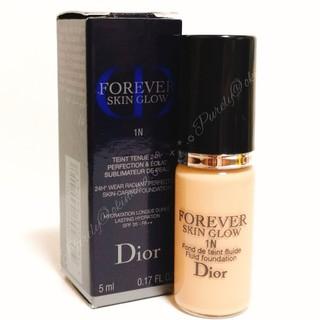 ディオール(Dior)の【Dior】 #1N ディオール スキンフォーエヴァー フルイド グロウ 5ml(ファンデーション)