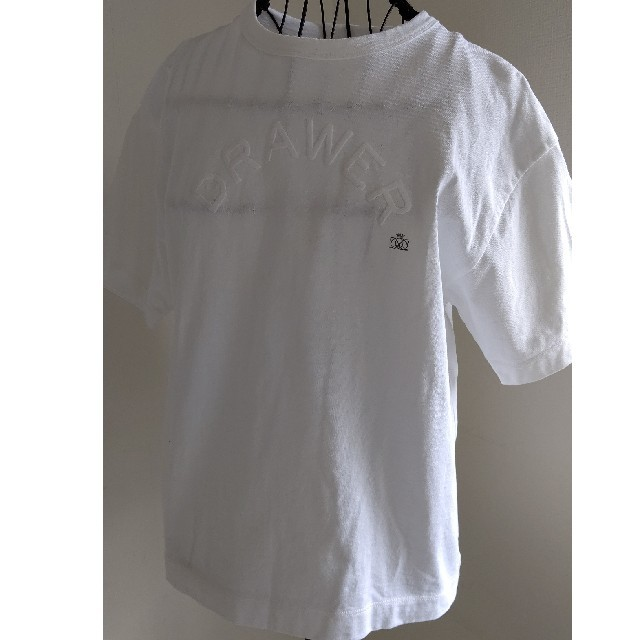 Drawer(ドゥロワー)のDrawer 人気ロゴTシャツ sale レディースのトップス(Tシャツ(半袖/袖なし))の商品写真