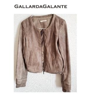 ガリャルダガランテ(GALLARDA GALANTE)のガリャルダガランテ ラムレザージャケット(レザージャケット)