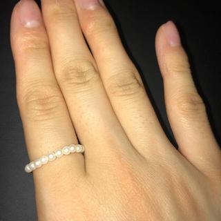 パール 指輪 8号(リング(指輪))