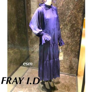 FRAY I.D - FRAYI.D☆フレイアイディー☆ ハイネックティアードフレアワンピース