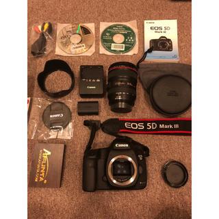 Canon - 超美品 EOS 5D Mark Ⅲ EF24-105 IS USM レンズキット