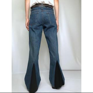 カラー(kolor)のTriangle-Cutting Flare Denim Pant(デニム/ジーンズ)