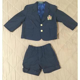 ミキハウス(mikihouse)のミキハウス 男の子用 フォーマルスーツ 95cm(ドレス/フォーマル)
