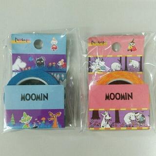 【新品】ムーミン マスキングテープ 15mm×10m(2種類)