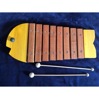 ボーネルンド(BorneLund)のbornelund木琴(楽器のおもちゃ)