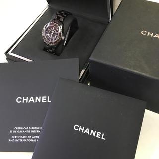 CHANEL - 美品 CHANEL シャネル j12 レディース 33ミリ 正規品 箱、冊子付き