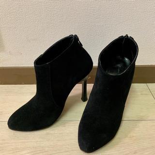 ルシェルブルー(LE CIEL BLEU)の値下げしますルシェルブルー購入のショートブーツ 36ハーフ(ブーツ)