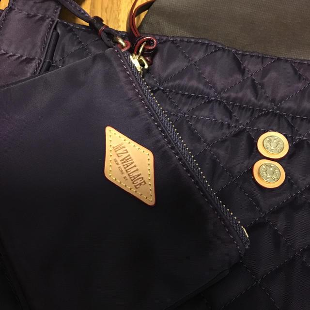 MZ WALLACE(エムジーウォレス)のMZWALLCE  パープル   レディースのバッグ(トートバッグ)の商品写真