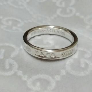 ティファニー(Tiffany & Co.)の17号 TIFFANY 1837 ナロー ティファニー リング 指輪(リング(指輪))