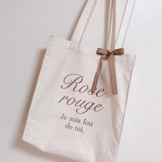 メゾンドフルール(Maison de FLEUR)のMaison de FLEUR Rose rouge トートバッグ(トートバッグ)