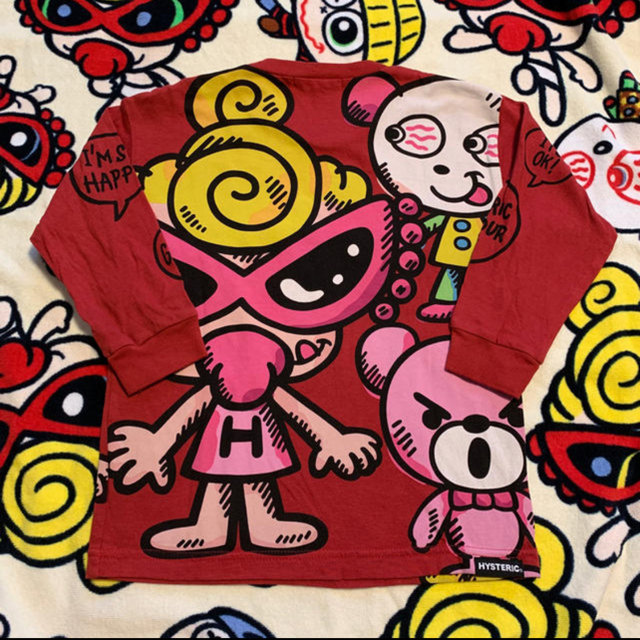 HYSTERIC MINI(ヒステリックミニ)のロンT キッズ/ベビー/マタニティのキッズ服 女の子用(90cm~)(Tシャツ/カットソー)の商品写真
