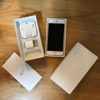 iPhone - iPhone6 au 16gb 本体 ゴールド 美品 送料無料 格安sim