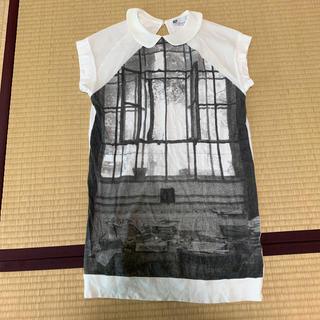 スライ(SLY)のSLY 丸襟つきロングTシャツ(Tシャツ(半袖/袖なし))