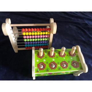 ミキハウス(mikihouse)の知恵おもちゃセット(知育玩具)