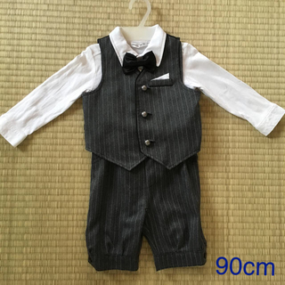 男の子 フォーマル スーツ!90cm