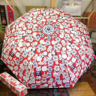 CHANEL - シャネル(CHANEL)自動 日傘 晴雨兼用 折り畳み傘