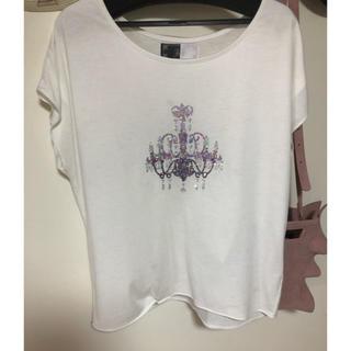レディー(Rady)のRady シャンデリア ドルマン Tシャツ(Tシャツ(半袖/袖なし))