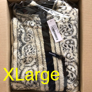 Supreme - XL Supreme Reversible Bandana Fleece