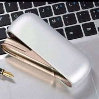 IQOS3 アイコス3用ハードケース シルバー 銀色 送料込み(タバコグッズ)