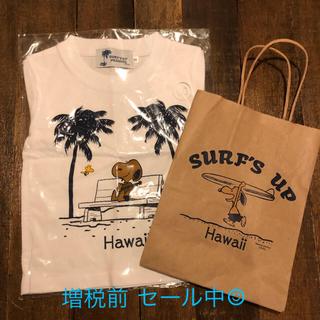 スヌーピー(SNOOPY)のハワイ限定 日焼けスヌーピー Tシャツ 90サイズ  キッズTシャツ キッズ(その他)