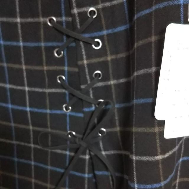 ニッセン(ニッセン)のチェックスカート レディースのスカート(ひざ丈スカート)の商品写真