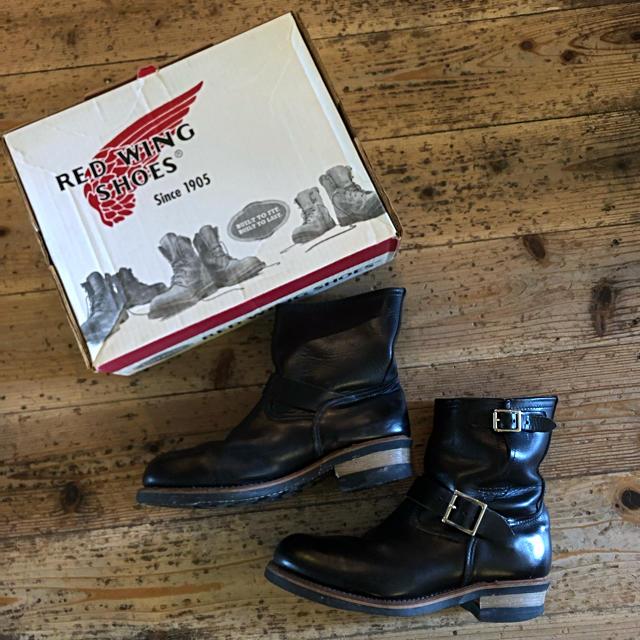 REDWING(レッドウィング)のRED WING ショートエンジニアブーツ 廃盤 クロムエクセルレザー 2973 メンズの靴/シューズ(ブーツ)の商品写真