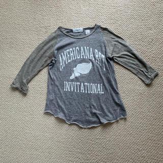 アメリカーナ(AMERICANA)のAmericana★ラグランスリーブ七分丈Tシャツ(Tシャツ(長袖/七分))
