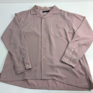 レイジブルー(RAGEBLUE)の早い者勝ち!RAGEBLUE オープンカラーシャツ ピンク(シャツ)