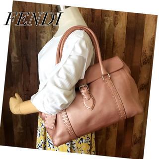 フェンディ(FENDI)の美品‼️フェンディ✨ セレリア/リンダバッグ❤️シリアルあり‼️(送料込)(ショルダーバッグ)
