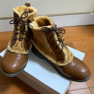 サマンサモスモス(SM2)のサマンサモスモス茶色ブーツ(ブーツ)