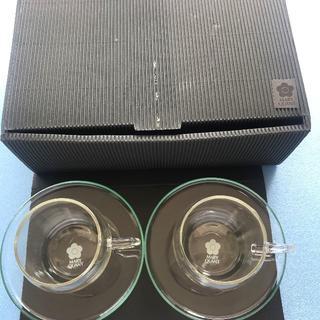 マリークワント(MARY QUANT)の新品 MARY QUANT(マリークワント) カップ&ソーサーセット (グラス/カップ)
