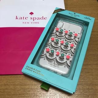 ケイトスペードニューヨーク(kate spade new york)の新品 ケイトスペード iPhoneX/XS対応ケース(iPhoneケース)