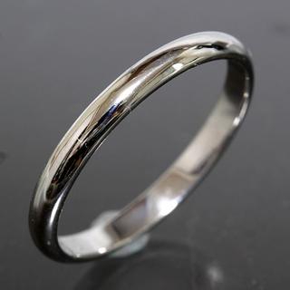 カルティエ(Cartier)のカルティエ cartier シンプル リング size58 pt950 新品仕上(リング(指輪))