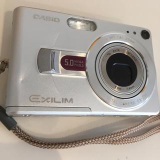 カシオ(CASIO)の壊れたCASIOのデジタルカメラ(コンパクトデジタルカメラ)