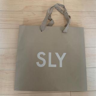 スライ(SLY)のSLY♡ショップ袋(ショップ袋)