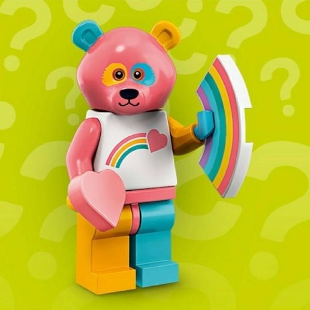 Lego(レゴ)のレゴ  クマのコスチュームを着た男 キッズ/ベビー/マタニティのおもちゃ(知育玩具)の商品写真