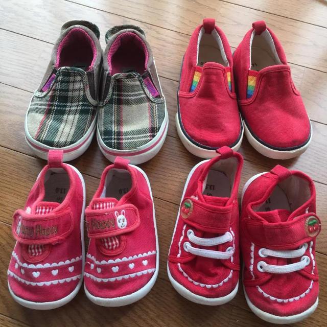 VANS(ヴァンズ)のキッズ スニーカー 13 13.5 14 15 バンズ 他 キッズ/ベビー/マタニティのベビー靴/シューズ(~14cm)(スニーカー)の商品写真