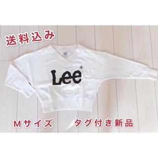 リー(Lee)の⭐️リーLee⭐️★ロゴプリントクルーネック スウェットMサイズ新品(トレーナー/スウェット)