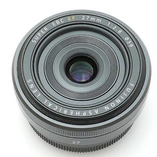 富士フイルム - フジXF27mmf2.8ブラック